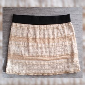 Free People High Waisted Lacy Ruffle Skirt
